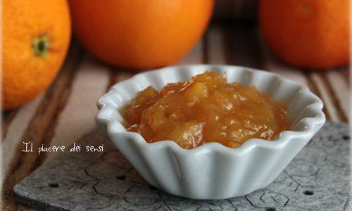 Marmellata di arance allo zenzero