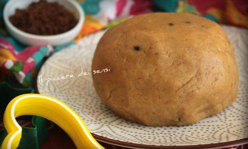Pasta frolla con farina di riso e zucchero muscovado