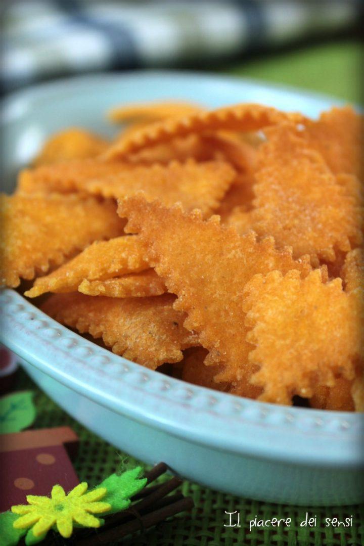 Triangolini al mais fritti