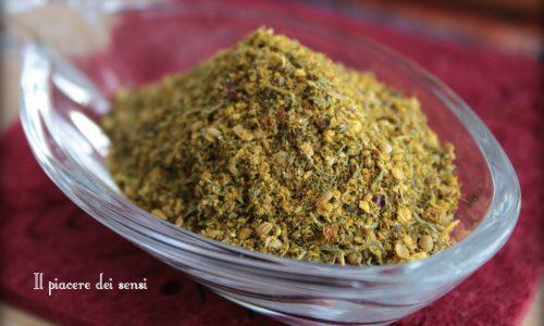 Colombo mix di spezie delle Antille fatto in casa