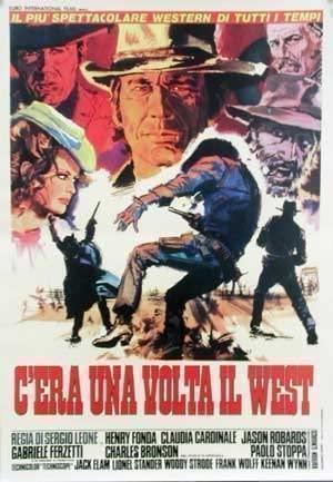 C'era una volta il West - Locandina del film di Sergio Leone girato nel deserto di Tabernas