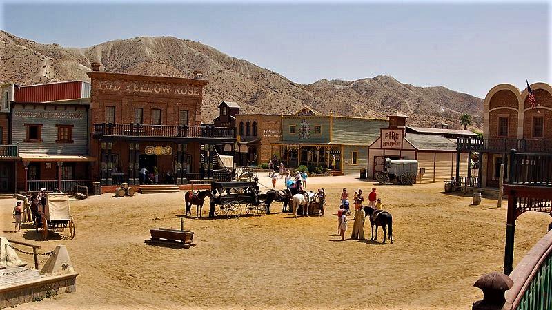 Una volta il west nella piazza principale si svolgevano epici duelli tra sfidanti all'ombra dello sceriffo