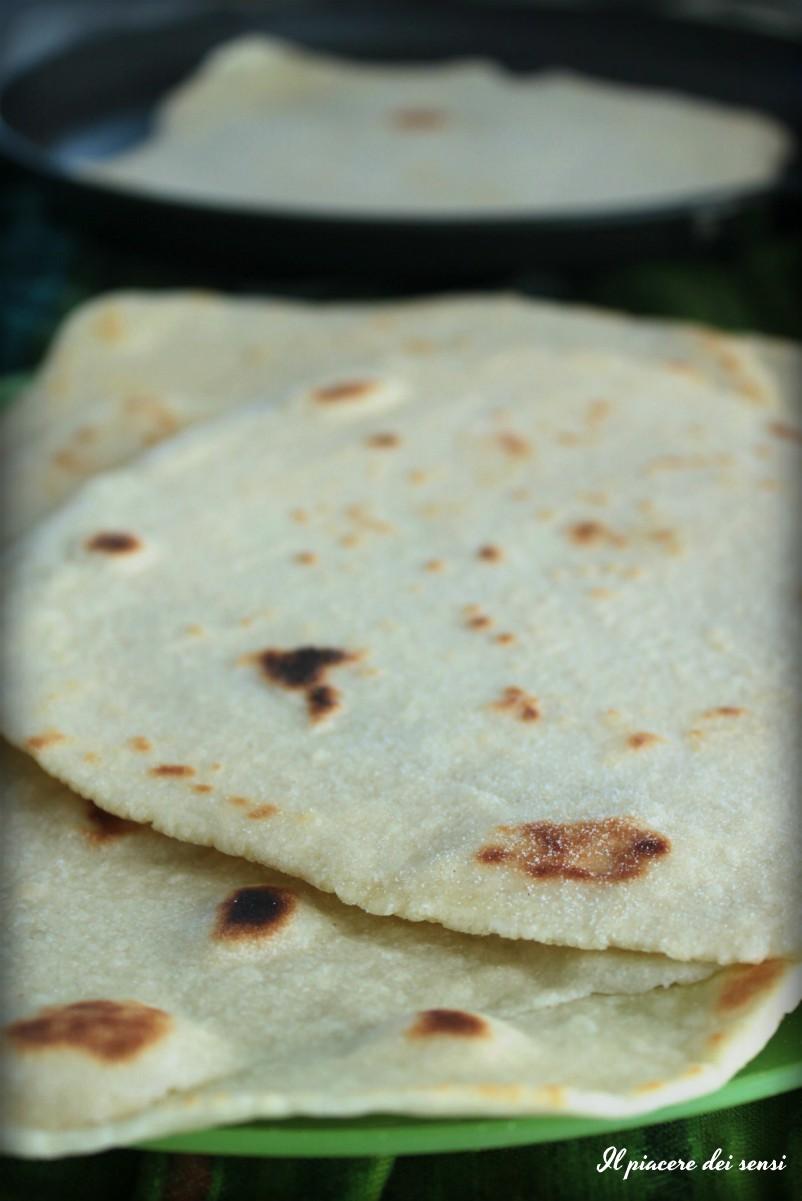 Piadine con farina di mais senza strutto le pentole della salute