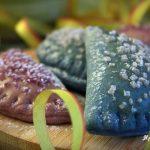 mezzelune colorate alla confettura