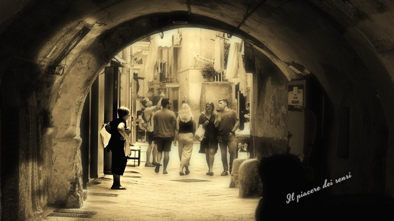 Entrando da Arco Vecchio