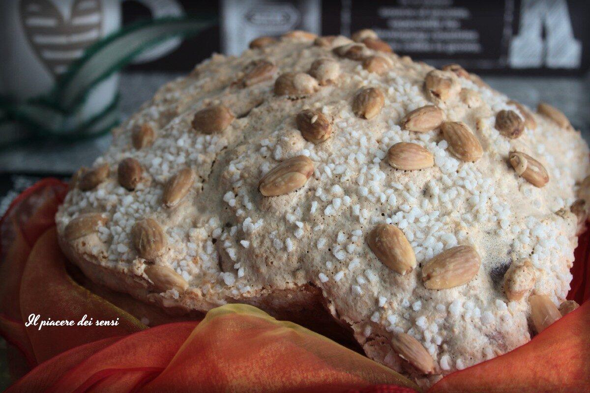 Colomba alla pera ed uvetta con la macchina del pane
