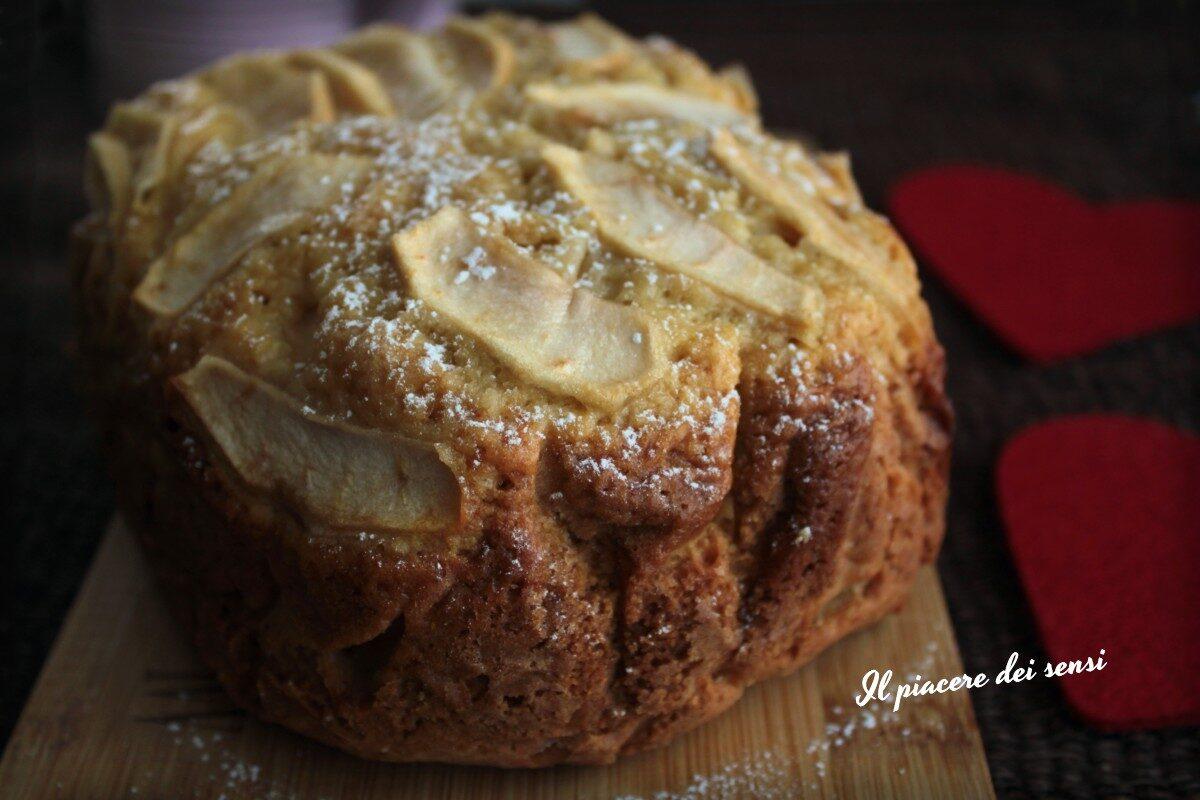 torta di mele con la macchina del pane