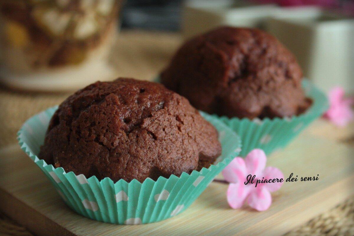 Muffins ricotta e cioccolatoMuffins ricotta e cioccolato