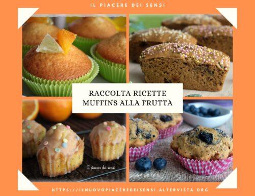 Raccolta ricette muffins alla frutta